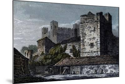 Rochester Castle, Kent--Mounted Giclee Print