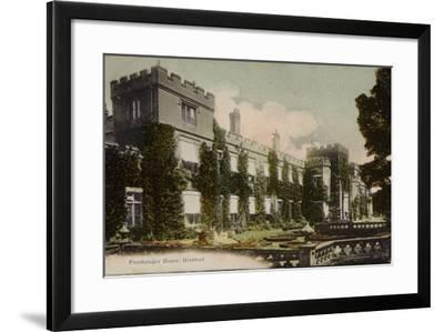 Panshanger House, Hertford--Framed Photographic Print