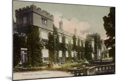 Panshanger House, Hertford--Mounted Photographic Print