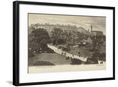 In Kelvingrove Park, Glasgow- Scottish Photographer-Framed Photographic Print