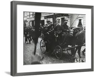 1st of May Celebrations in St. Petersburg, C.1905--Framed Photographic Print