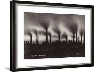 """Beautiful Sheffield""--Framed Photographic Print"