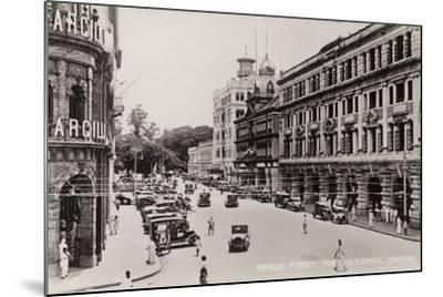 Prince Street in Colombo--Mounted Photographic Print