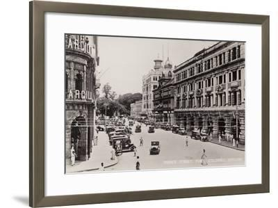 Prince Street in Colombo--Framed Photographic Print