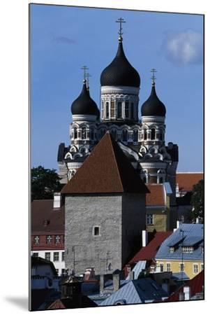 Old Town of Tallinn--Mounted Giclee Print