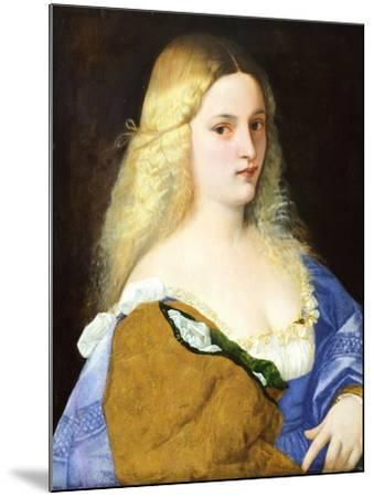 Violante, by Titian--Mounted Giclee Print