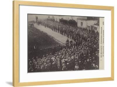 German Pows, Belgium, World War I--Framed Photographic Print