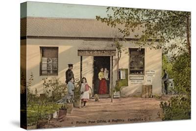 Postcard Depicting Constantia--Stretched Canvas Print