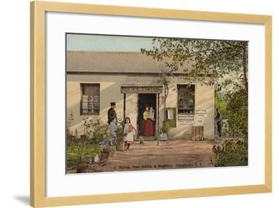 Postcard Depicting Constantia--Framed Photographic Print