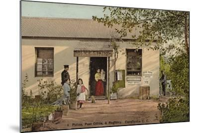 Postcard Depicting Constantia--Mounted Photographic Print