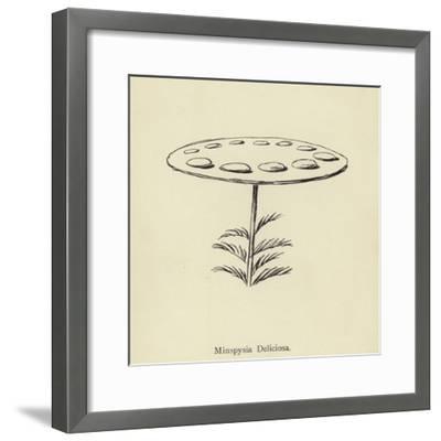 Minspysia Deliciosa-Edward Lear-Framed Giclee Print