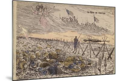 The Dream Comes True, World War I--Mounted Giclee Print