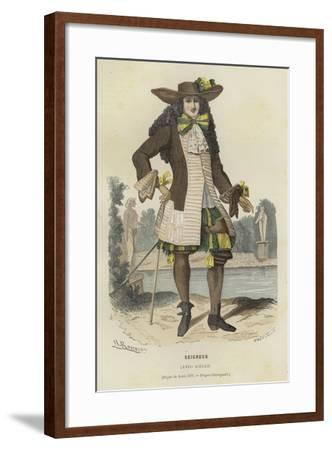 Nobleman, 17th Century--Framed Giclee Print