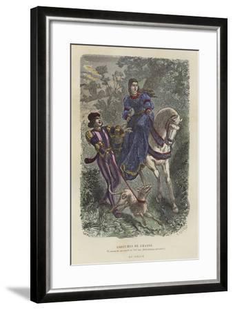Hunting Dress, 15th Century--Framed Giclee Print