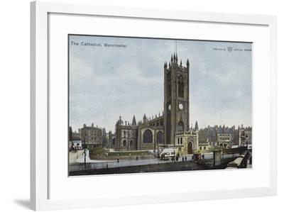 The Cathedral, Manchester--Framed Photographic Print