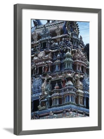Sri Lanka, Sacred City of Kandy, Tamil Temple--Framed Giclee Print