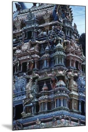 Sri Lanka, Sacred City of Kandy, Tamil Temple--Mounted Giclee Print
