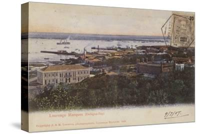 Delagoa Bay and Lourenco Marques, Mozambique--Stretched Canvas Print