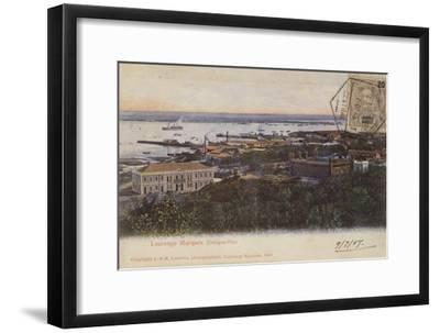 Delagoa Bay and Lourenco Marques, Mozambique--Framed Photographic Print