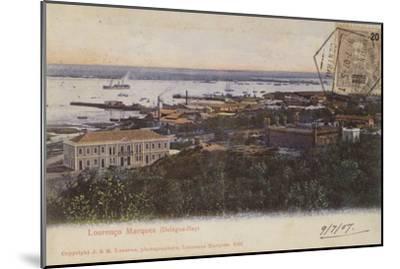 Delagoa Bay and Lourenco Marques, Mozambique--Mounted Photographic Print