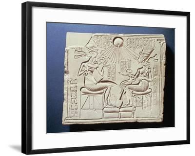 Relief Depicting King Amenhotep Iv--Framed Giclee Print