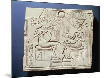 Relief Depicting King Amenhotep Iv--Mounted Giclee Print