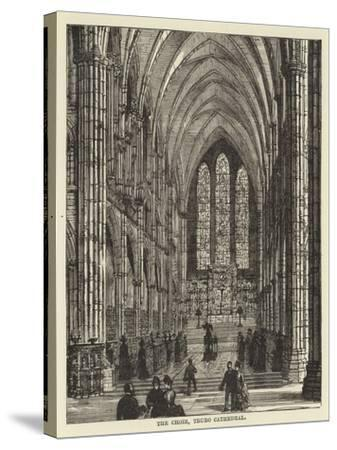 The Choir, Truro Cathedral--Stretched Canvas Print