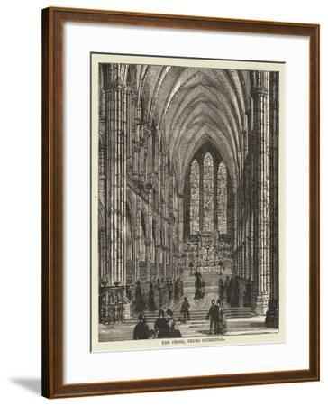 The Choir, Truro Cathedral--Framed Giclee Print