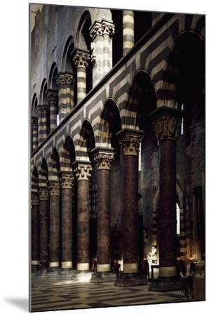 Interior of St Lawrence--Mounted Giclee Print