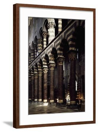 Interior of St Lawrence--Framed Giclee Print