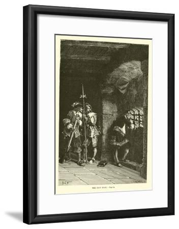 The Iron Mask--Framed Giclee Print