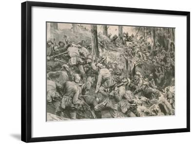 From the Battle in the Vosges--Framed Giclee Print