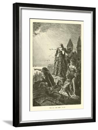 """""""See, See,"""" She Cried--Framed Giclee Print"""