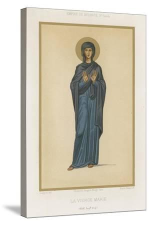 Virgin Mary--Stretched Canvas Print