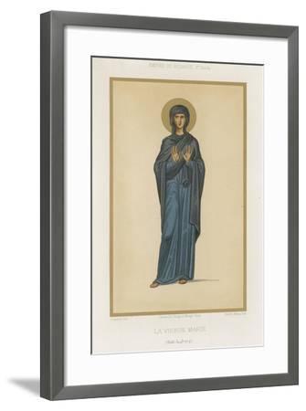 Virgin Mary--Framed Giclee Print