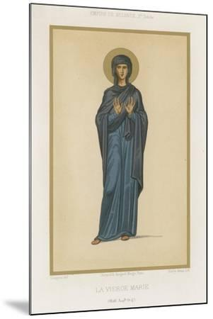 Virgin Mary--Mounted Giclee Print