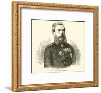 The Crown Prince of Prussia, August 1870--Framed Giclee Print