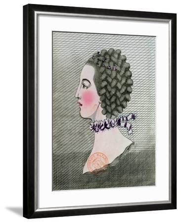 The Art of Hairdressing in Paris, 1767-Sauveur Legros Or Le Gros-Framed Giclee Print
