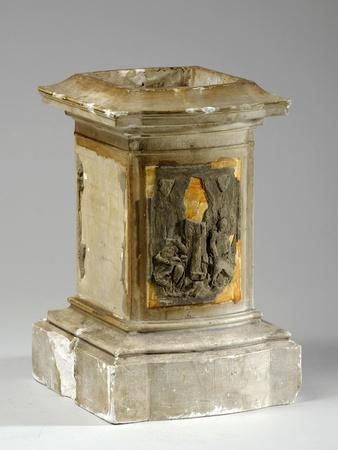 Maquette for Monumental Plinth-William Hamo Thornycroft-Framed Giclee Print