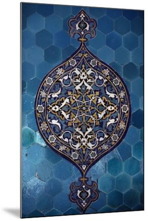 Decorative Tiles, Yesil Turbe--Mounted Giclee Print