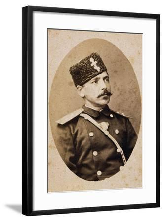 Portrait of Danail Nikolaev--Framed Giclee Print