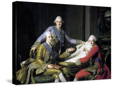 Gustav III of Sweden--Stretched Canvas Print
