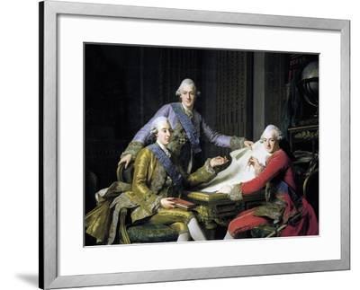 Gustav III of Sweden--Framed Giclee Print