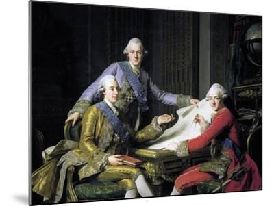 Gustav III of Sweden--Mounted Giclee Print