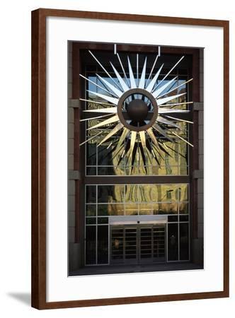 Entrance of Administrative Building--Framed Giclee Print