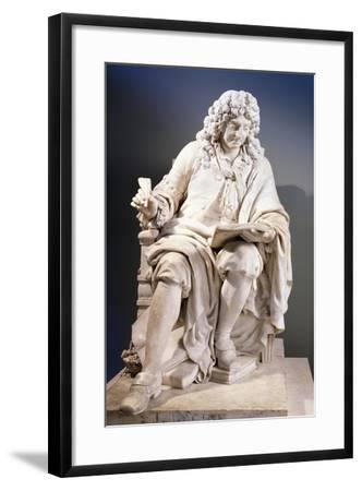 Marble Statue of Jean Racine--Framed Giclee Print