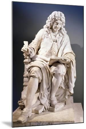 Marble Statue of Jean Racine--Mounted Giclee Print