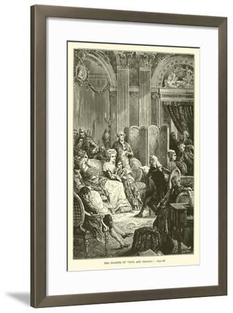 """The Reading of """"Paul and Virginia""""--Framed Giclee Print"""
