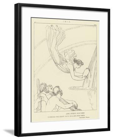 Iris-John Flaxman-Framed Giclee Print