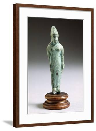 Kore in Bronze, from Fonte Veneziana, Arezzo--Framed Photographic Print